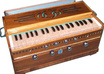 play harmonium displaying your logo or message and Send you an HD video small2