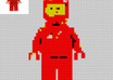 change your logo or text into lego / toy bricks small2