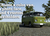 make a movie with your face, your text and custom VW van small2
