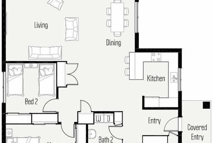 Awesome 2d House Plan Ideas 3D house designs veerleus