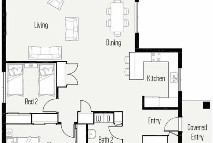 Plan autocad 2d home ideas 2016 for House 2d plans