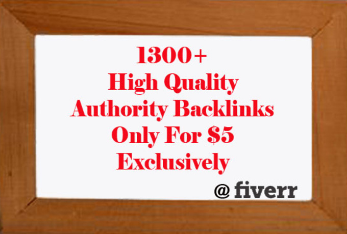 create 1300+ High Quality Diversified Authority Backlinks helping to boost your site ranking with wiki+web20+social Bookmarking+Profile
