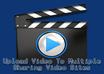 make a manual video SUBMISSION for you to over 10 vide_o sharing sites,like youtube and dailymotion + ping small2