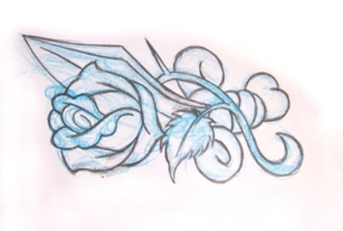 draw a simple tattoo design fiverr. Black Bedroom Furniture Sets. Home Design Ideas