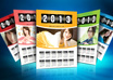 create Printready Exclusive wall Calendar 2013 that is PERSONALIZED for you, such as the Image, Colors, Text and Logo small3