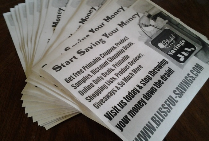 print and handout 60 flyers to homeowners within 50 miles of Milwaukee, Wisconsin in an area of your choosing