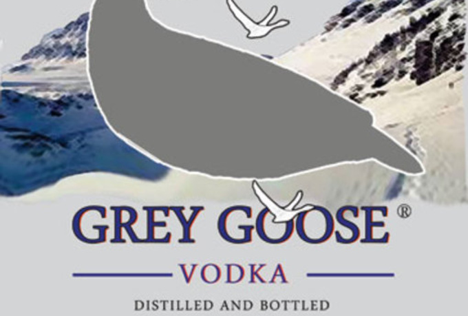 send you a file with a... Grey Goose Bottle Label