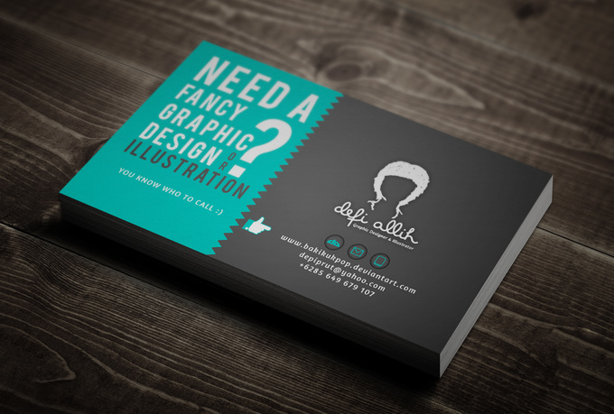 design your own fancy business card - fiverr
