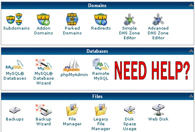 help you to configure domain and web hosting