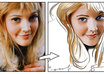 create a Toon Art illustration portrait from any photo small3