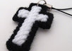 send a handcrafted cross cellphone charm to your US address small3