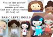 customize a felt doll