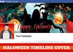 make your Facebook Page really SCARY for Halloween