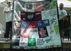 mail you QUILT instructions to make your own tshirt memory quilt, complete with illustrated instructions