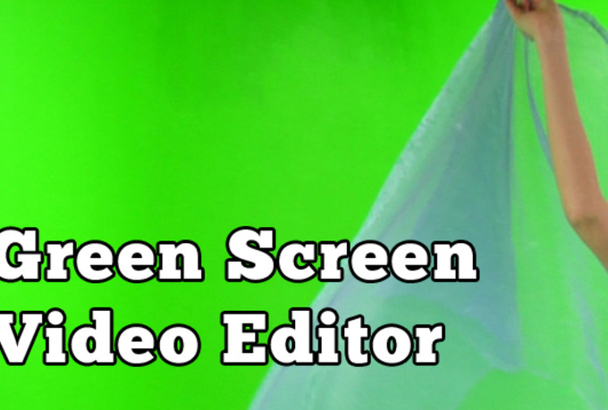modify your Green Screen Video with any background