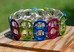 make a soda tab bracelet any color for any sized wrist