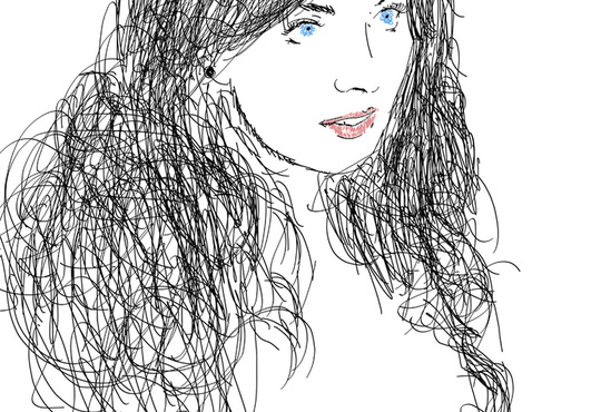 Scribble Drawing Lesson Plan : Draw your photo in my own unique style fiverr