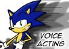 voice act characters, anything from Luigi to Sonic authentically small1