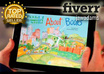 convert your kids childrens picture book to Amazon Kindle Fire format