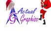 put santa hat on your logo and place santa with gifts small1