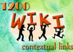 build 1200 contextual WIKI backlinks from over 650 unique domains