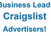 deliver CRAIGSLIST advertiser leads for one business category and one state the majority include email contact small1