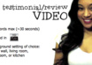 make a natural and genuine testimonial/review video in HD small1