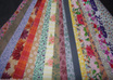 send you 10 x 2 1/2 inch by width of 100 percent cotton fabric strips