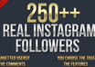 send 250 REAL followers to your instagram account [pass required]