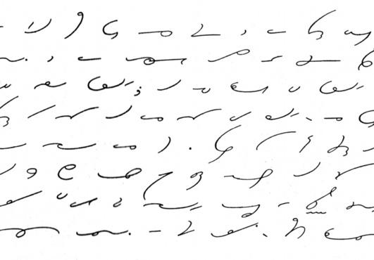 Shorthand writing translation