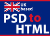 convert your PSD file to html file