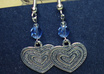 make these heart earrings