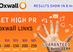 give you 50, 100, 150, 200, 250 and 300 High Pr + Dofollow + Serp Friendly Oxwall Links to your website
