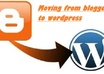 move blogspot to wordpress blog