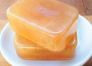 send 1 natural, vegan, toffee caramel soap