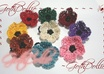 make a custom Crocheted Flower Ring