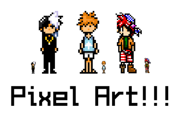 create a pixel art icon