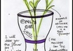 paint a flowerpot and put your message on it small1