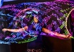 record an astral LED hoop video to song of your choice