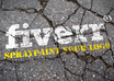 make 3 Spray Paint Mockups of your logo/text on asphalt
