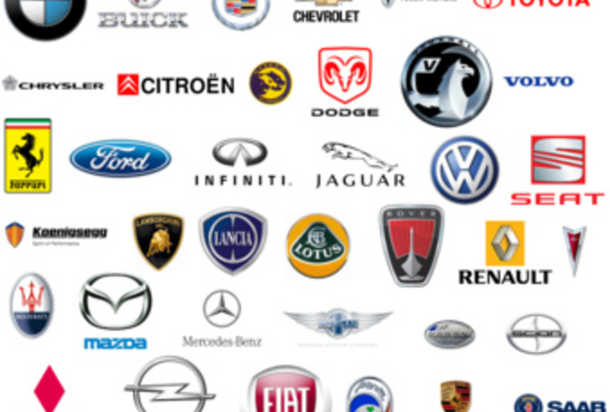 Car Company Logos and Their Names