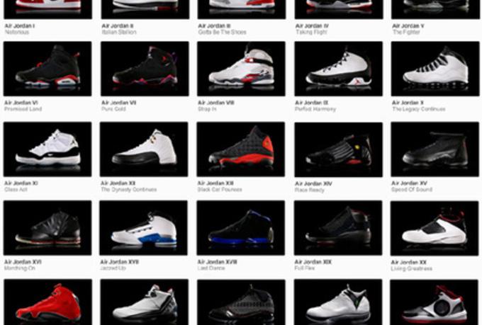 Air Jordan Liste