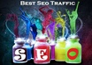 send you 2600+ Guaranteed Organic Search Engines Traffic