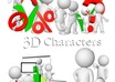 give you 200 3D Characters to add to your blog, site or ebooks etc small1
