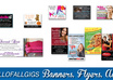 design a professional flyer, banner, or print advertisement for your business