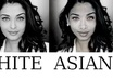 show you what you look like as 4 races black,white,asian,indian