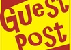 let you guest post on my PR2 site