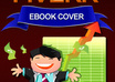 make an Ebook cover 2D or 3D within 3 hours