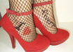write anything on my feet in fishnets and heels