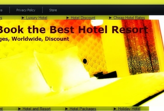 place your link every page on my Pr1 Hotel website permanently